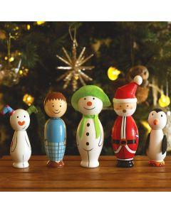 Orange Tree Toys - The Snowman Skittle Set