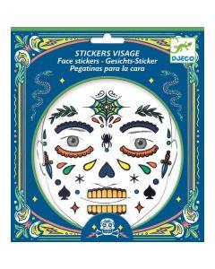 Djeco Face Stickers Kit - Skull