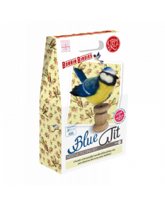 The Crafty Kit Co, Needle Felting Kit - Blue Tit