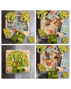 Djeco 3 Layer Puzzle Tree House