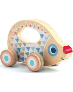 Djeco Baby White BabyRouli Push Along Toy