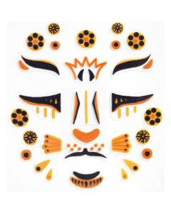 Djeco Face Stickers Kit - Leopard