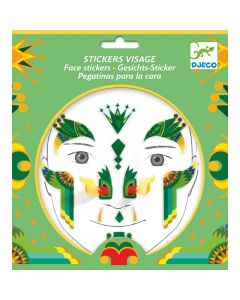 Djeco Face Stickers Kit - Dragon