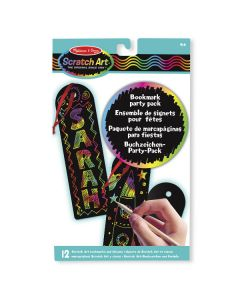 Melissa & Doug - Scratch Art Bookmark Party Packs