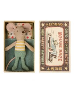 Maileg Little Brother Mouse In A Box