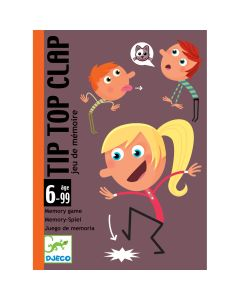 Tip Top Clap - Djeco Card Game