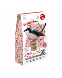 The Crafty Kit Co, Needle Felting Kit - Long Tail Tit