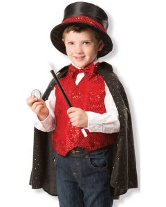 Magician Dressing Up Costume