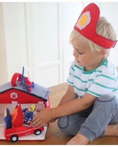 Pretend Play Fire Station - Oskar & Ellen