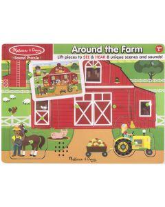 Melissa and Doug Sound Puzzle - Around the Farm