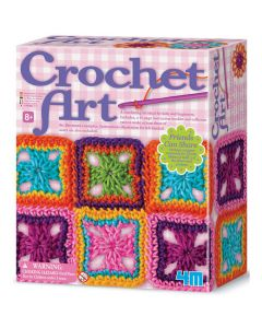 4M Children's Crochet Art