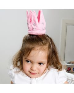 Fabric Princess Crown - save 40%