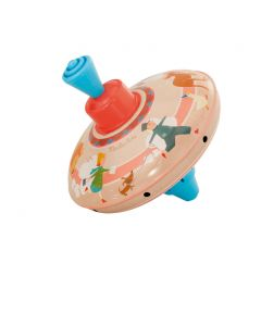 Moulin Roty Circus small metal spinning top