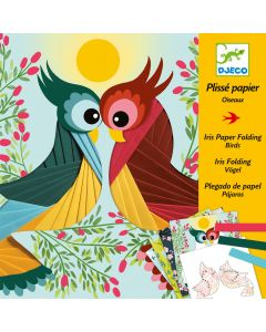 Djeco Iris Paper Folding - Birds
