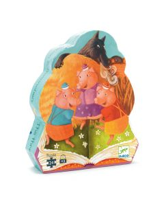 Djeco Three Little Pigs Puzzle