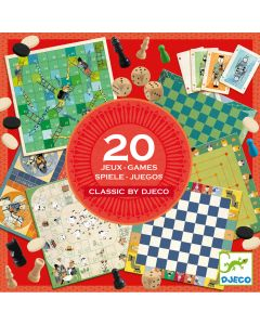 20 Classic Games - Djeco Toys