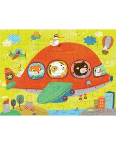 Mudpuppy Puzzles to Go - Airplane