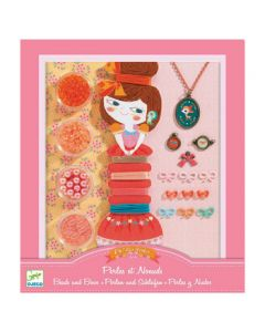 Djeco Jewellery Kit Pearls and Ribbons