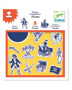 Djeco Pirate Stamps - SAVE 25%