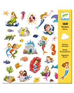 Djeco Mermaid Stickers