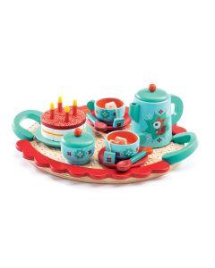 Djeco Wooden Tea Set Toy