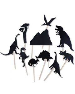 Moulin Roty Shadows Puppet Show Dinosaurs
