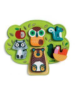 Djeco First Puzzle Tree House - Djeco Oski - SAVE 25%