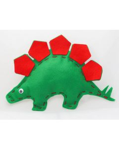 Buttonbag First Sewing Kit - Stegosaurus