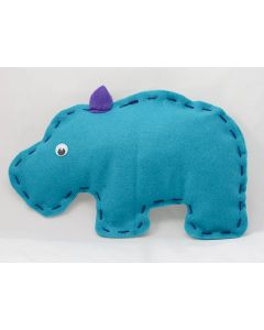 Buttonbag First Sewing Kit Hippo