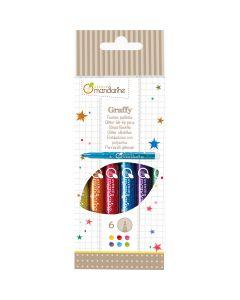 Glitter Felt Tip Pens - Avenue Mandarine