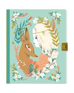 Lucille Lockable Notebook - Djeco Stationery
