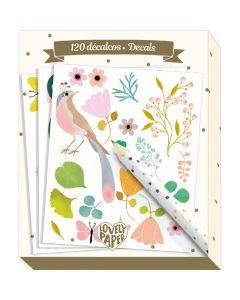 Tinou Decals - Djeco Stationery
