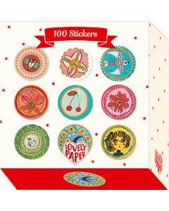 100 Aurelia Stickers - Djeco Stationery