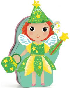 Wooden Princess & Fairies Magnetics - InZeBox Belissimo by Djeco