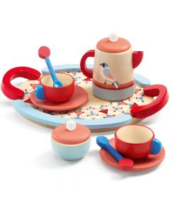 Djeco Tea Time - Wooden Tea Set Toy