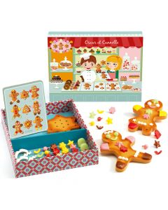 Toy Gingerbread Shop - Djeco Oscar and Canelle