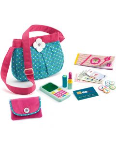 Djeco Pretend Play - Handbag and accessories