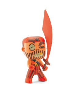 Djeco Arty Toys - Pirates Captain Red