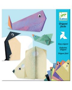 Djeco Easy Polar Animal Origami