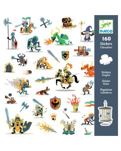 Djeco Knight Stickers