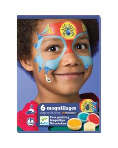 Djeco Super Hero Face Painting Kit