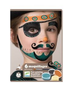 Djeco Pirate Face Painting Kit