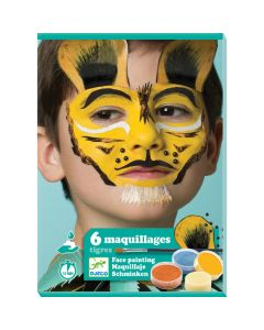 Djeco Tiger Face Painting Kit