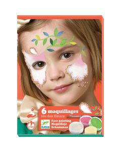 Djeco Flower Fairy Face Painting Kit