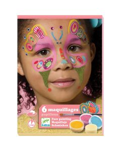 Djeco Butterfly Face Painting Kit