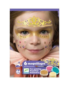 Djeco Princess Face Painting Kit