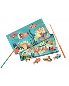 Magnetic Fishing Shark Game by Djeco