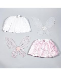 Dress Up Star Wings and Tutu Set (white only) - save 20%