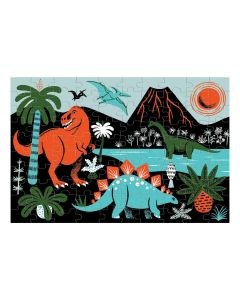 Mudpuppy Glow In The Dark Puzzle - Dinosaurs