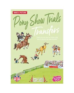 Scribble Down Pony Show Trials Transfers